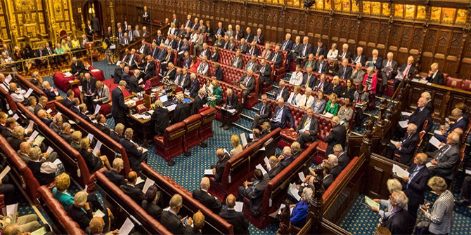 How many new peers would it take to turn the Lords in favour of no-deal Brexit?