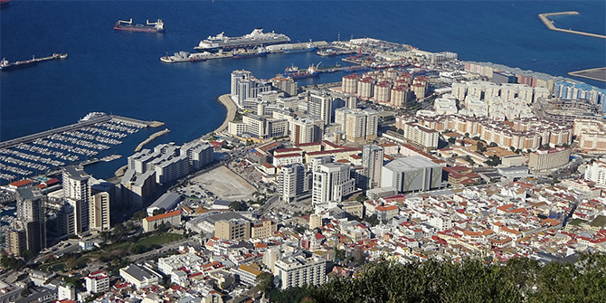 Gibraltar and Brexit: the triangulation of Britishness, Empire, and Spain