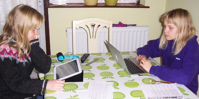 Children's personal privacy online – it's neither personal nor private