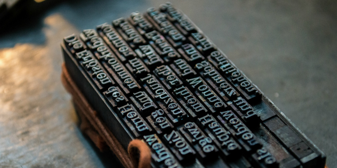 New Media New Knowledge – How the printing press led to a transformation of European thought