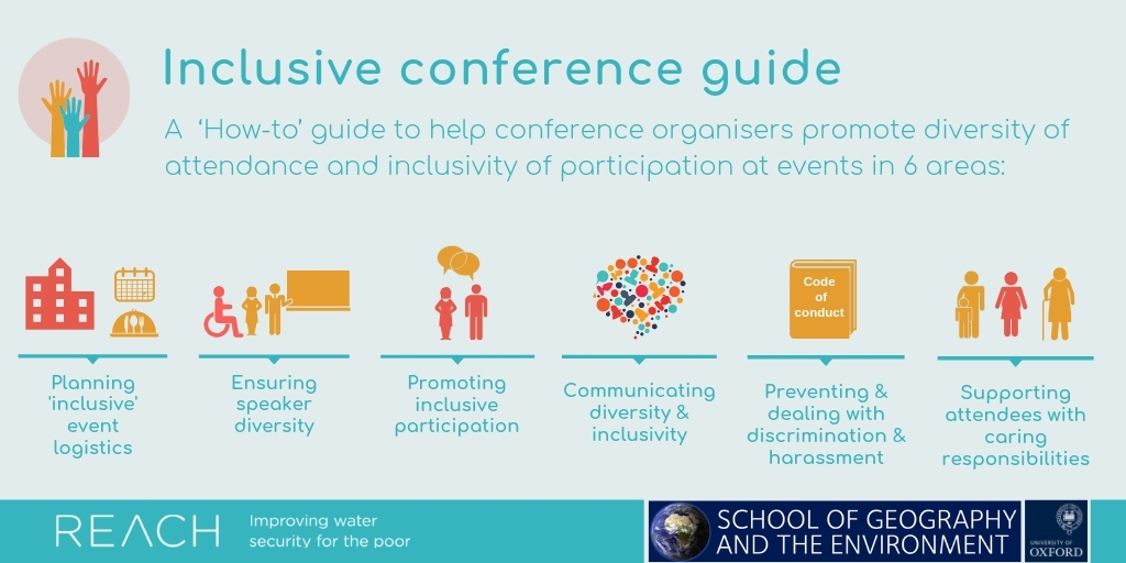 Inclusive conferences? We can and must do better – here's