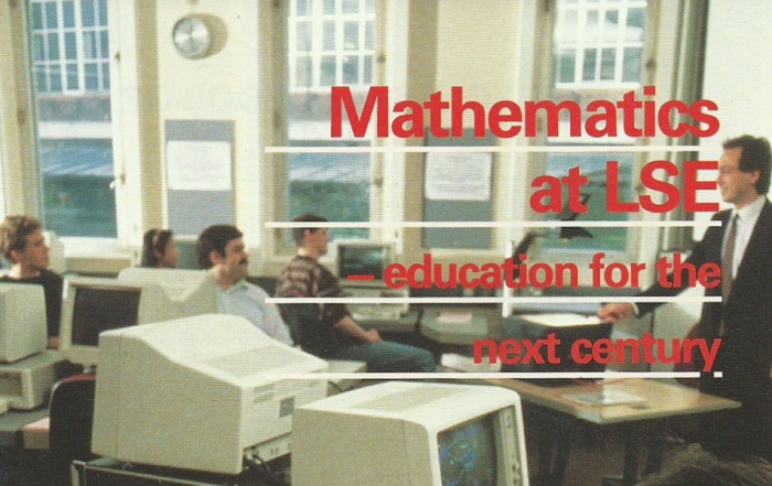 A Brief History of Mathematics at LSE: part two 1988-1998