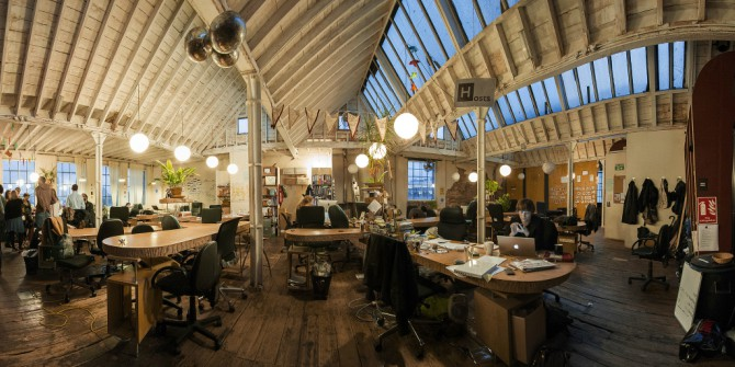 The Fast Growth Of Co Working Spaces In London Lse