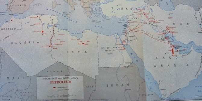 How the Middle East oil pricing system emerged in the 1940s