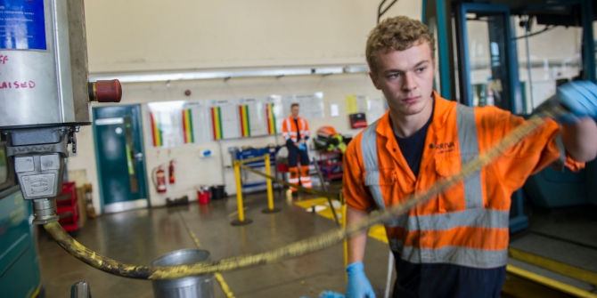 Apprenticeships bring returns for young people with low-medium qualifications