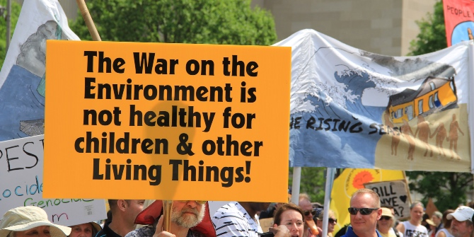 War rhetoric is rarely the best way to communicate about climate change