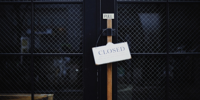How to survive as a business amidst an unexpected lockdown of the economy