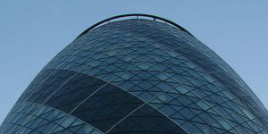 Photograph of 30 St Mary Axe in the City of London